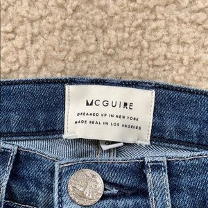 McGuire High Rise Skinny Jeans